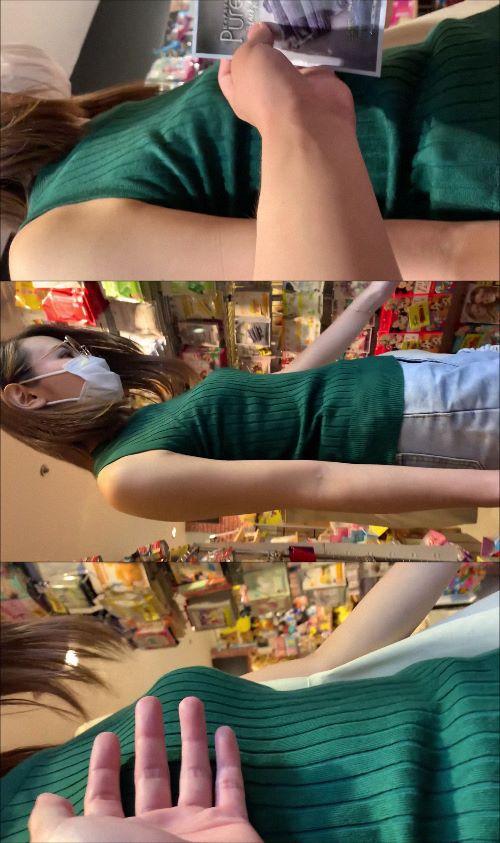 【おっぱい痴漢】エロエロ美女がいたので、おっぱいをプニプニタッチ!!興奮し過ぎて腕掴んで生おっぱい揉みまでww