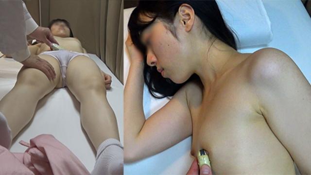 内科検診 無垢な女の子が乳首を触診され恥ずかしがる